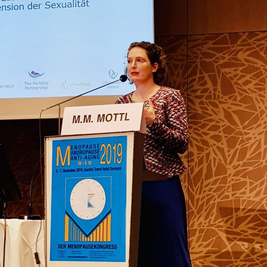 Speakerin über Reproduktionsmedizin